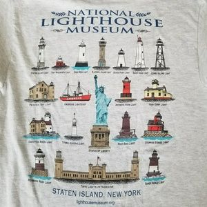 NATIONAL LIGHTHOUSE MUSEUM T-SHIRT.